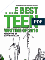 Best Teen Writing 2010