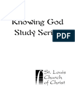 Knowing God Study Series