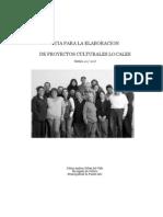 Guia de Elaboracion de Proyectos Culturales