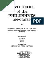 CIVIL CODE Volume 1