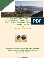 45392317 Construction Delay Claims Khalil Hassan