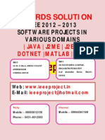 ieee projects 2012 for cse