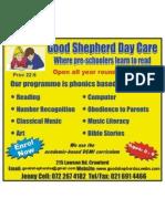 Good Shepherd Preschool School Fees