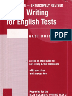 Essay Writing for English Tests | Question | Argument