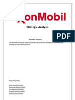 ExxonMobil-Strategic-Analysis-Report