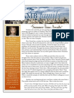 Letter May 2012