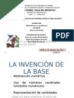 LA INVENCIÓN DE LA BASE