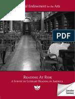 Reading at Risk