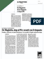 Rassegna Stampa 16.01.13