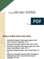 Silabus  Kuliah Islam dan Sians