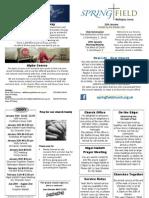 springfield churc wallington 13.01.13 newssheet