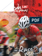 LBC Ronda Pilipinas 2013 Race Manual (Updated)