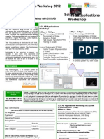 SCILAB Applications Workshop