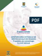 Asistenta sociala- servicii sociale (monitorizare)