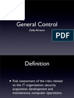 IT audit - general control