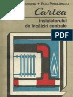 Cartea Instalatorului de Incalziri Centrale-1989