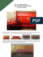 Modélisme ferroviaire à l'échelle HO. 14. Les wagons 'Taoos' à toiture pivotante, Par Hervé Leclère