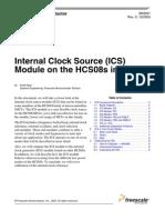 ICS Module in HCS08