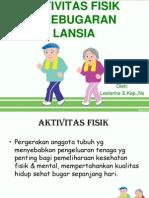 kebugaran lansia