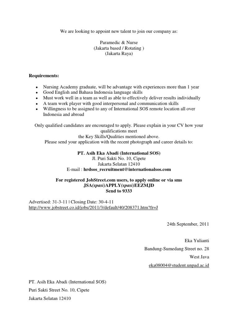 Erfreut Jobstreet Lebenslauf Format Probe Galerie - Beispiel ...