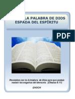 ESTA ES LA PALABRA DE DIOS, ESPADA DEL ESPÍRITU