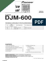 Pioneer Mixer DJM 600