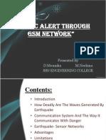 seismic alert