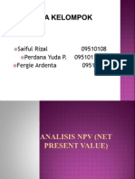NVP (Net Present Value)