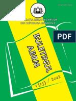 Buletinul ABRM Nr 2012-1