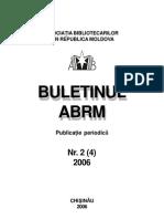 Buletinul ABRM Nr 2006-2
