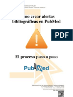 Alertas PubMed desde la Biblioteca Virtual