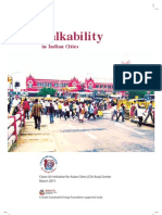 Improving Walkability in Indian cities