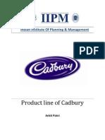 cadbury product line