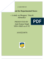 Retail strategies