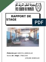 rapport de stage ocp