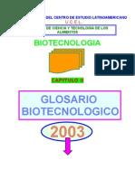 Glosario Biotecnológico