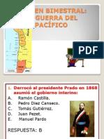 PREGUNTAS SOBRE LA GUERRA CON CHILE