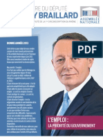 Lettre d'information de Thierry Braillard, député de la première circonscription du Rhône.