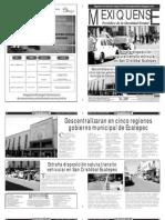 Versión impresa del periódico El mexiquense 16 enero 2013