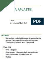 Anemia Aplastik Dan Talasemia