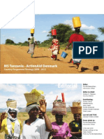 MS Tanzania Country Programme Strategy