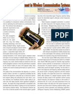 Multipath Measurement in Wireless Communication Systems