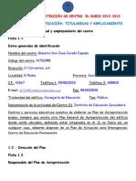 PLAN DE AUTOPROTECCIÓN DE CENTRO. EL RUBIO