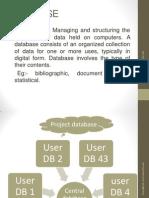 DBMS Basic Reference