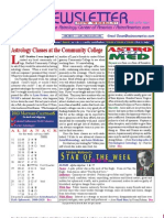 ASTROAMERICA NEWSLETTER DATED JANUARY 15, 2013