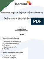 Gestion d Risque Cas Banque Al Barkaa aLGERie