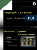 Introd. a la Algoritmia - Tema 1
