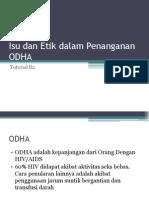 Isu dan Etik dalam Penanganan ODHA.pptx