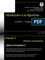 Introd. a la Algoritmia - Tema 3