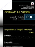 Introd. a la Algoritmia - Tema 5
